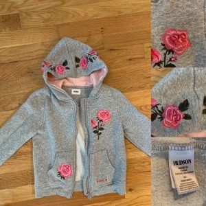 Hudson Embroidered Hoodie